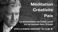 Méditation Transcendantale et David Lynch
